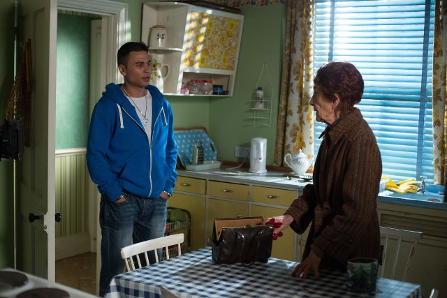 EastEnders - Dot Branning and Fatboy