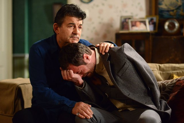EastEnders - Nick Cotton and Charlie Cotton