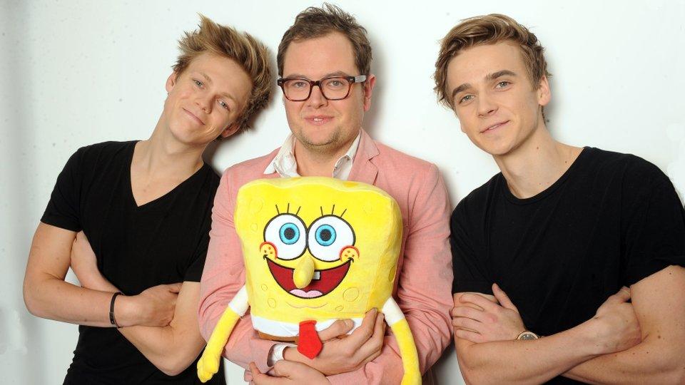 Alan Carr SpongeBob