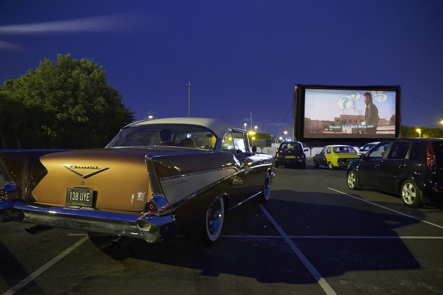 drive-in film club