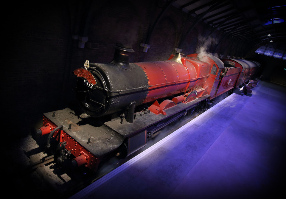 First sneak peek of the original Hogwarts Express steam train, part of the new permanent expansion at Warner Bros. Studio Tour London  (3)