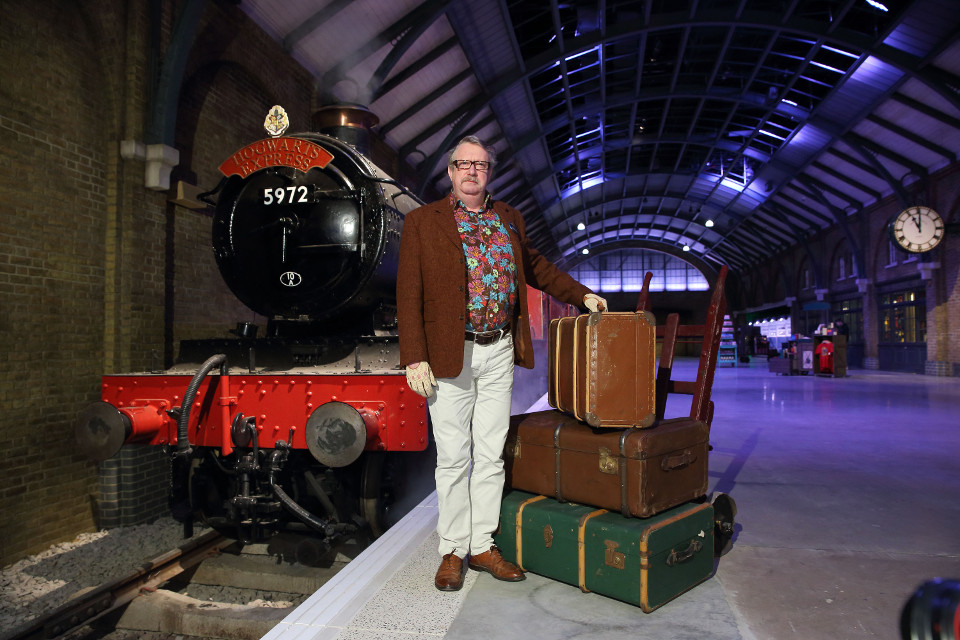 Mark Williams, Mr Weasley in the Harry Potter film series, hosts a sneak peek of the new permanent expansion at Warner Bros. Studio Tour London  (2)