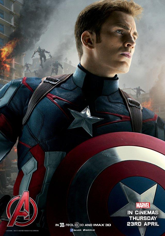 Avengers: Age of Ultron - Captain America
