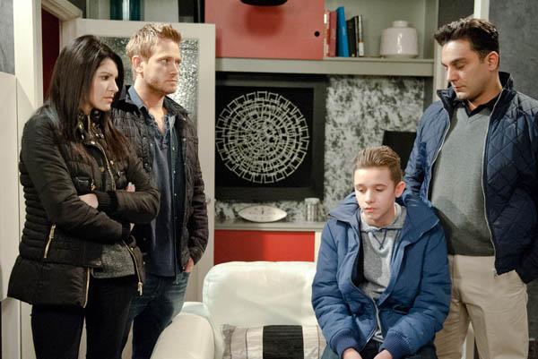 David, Alicia & Jacob Metcalfe