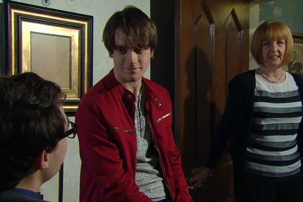 Finn Barton, Val Pollard & Darren, Emmerdale