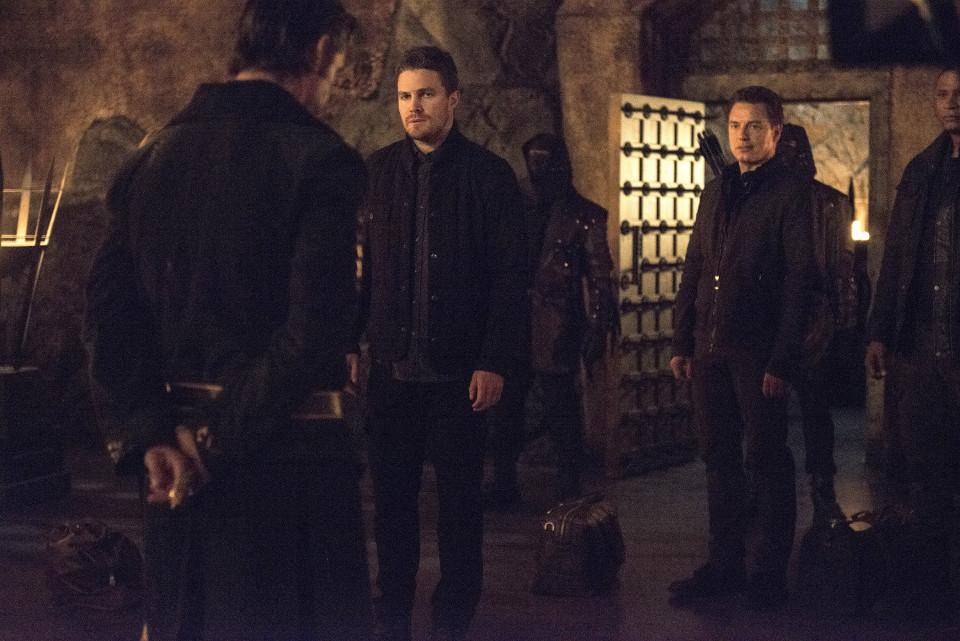 "Arrow Series 3  Episode 20 ""The Fallen""  © Warner Bros. Entertainment, Inc."