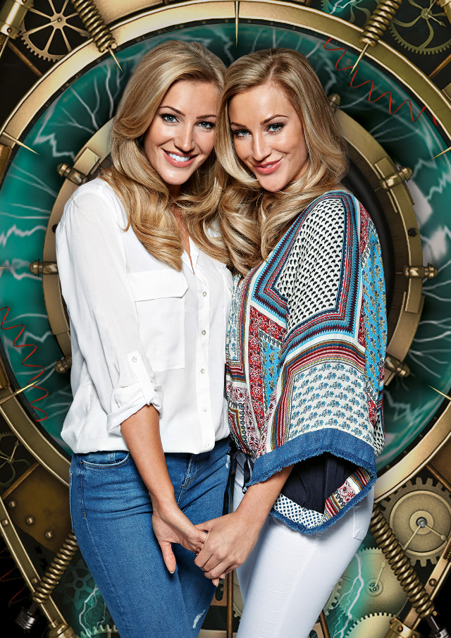 THIS IMAGE IS STRICTLY EMBARGOED UNTIL 10.05.2015Amy & Sally
