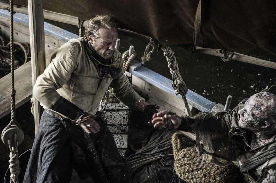 "Episode 5 ""Kill The Boy"" Dinklage, Peter;Glen, Iain as Tyrion Lannister;Jorah Mormont"