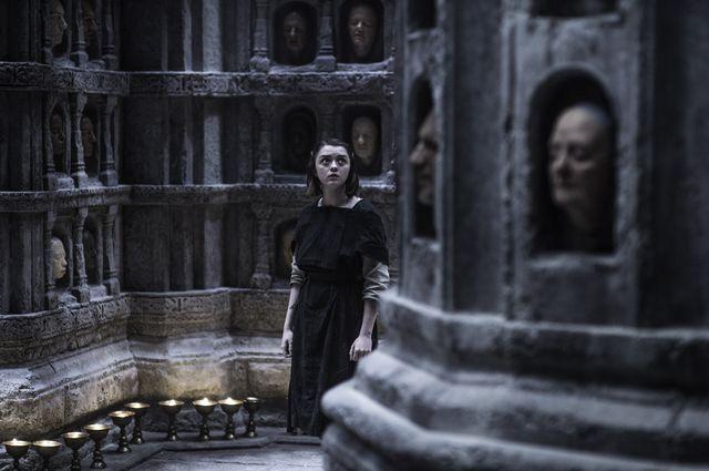 """Episode 6 """"Unbowed, Unbent, Unbroken"""" Williams, Maisie as Arya Stark"""