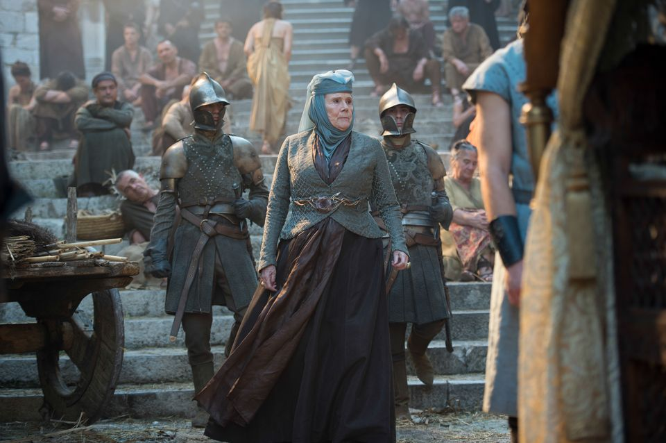 """Episode 7 """"The Gift"""". Rigg, Diana as Olenna Tyrell"""