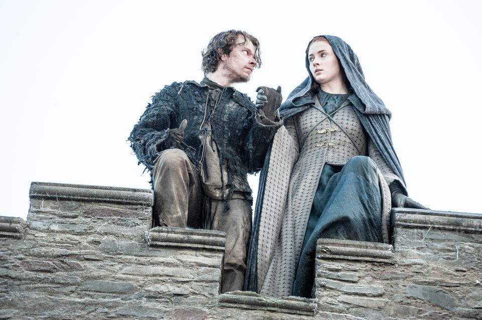 Game of Thrones, Series 5,Episode 10,Mother's Mercy,Sky Atlantic, Allen, Alfie;Turner, Sophie as Theon Greyjoy;Sansa Stark