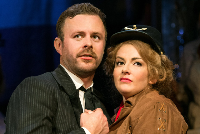 Jodie Prenger and Tom Lister in Calamity Jane. Photograph: Manuel Harlan.