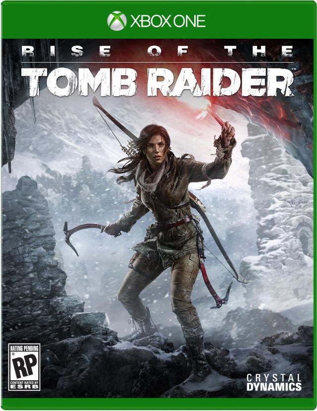 Rise of the Tomb Raider Boxart