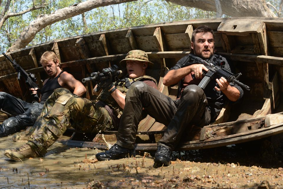 Dustin Clare as Faber; Philip Winchester as Sgt Michael Stonebridge; Leo Gregory as Mason