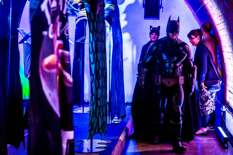 Arkham Knight Cape & Cowl press launch