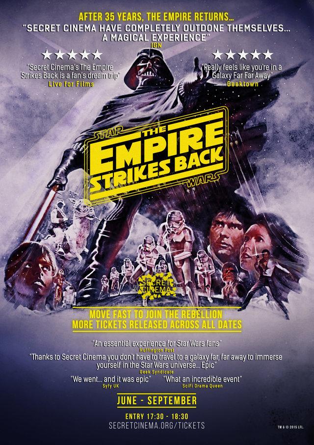 secret cinema: the empire strikes back