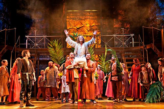 Glenn Carter as Jesus in Jesus Christ Superstar.