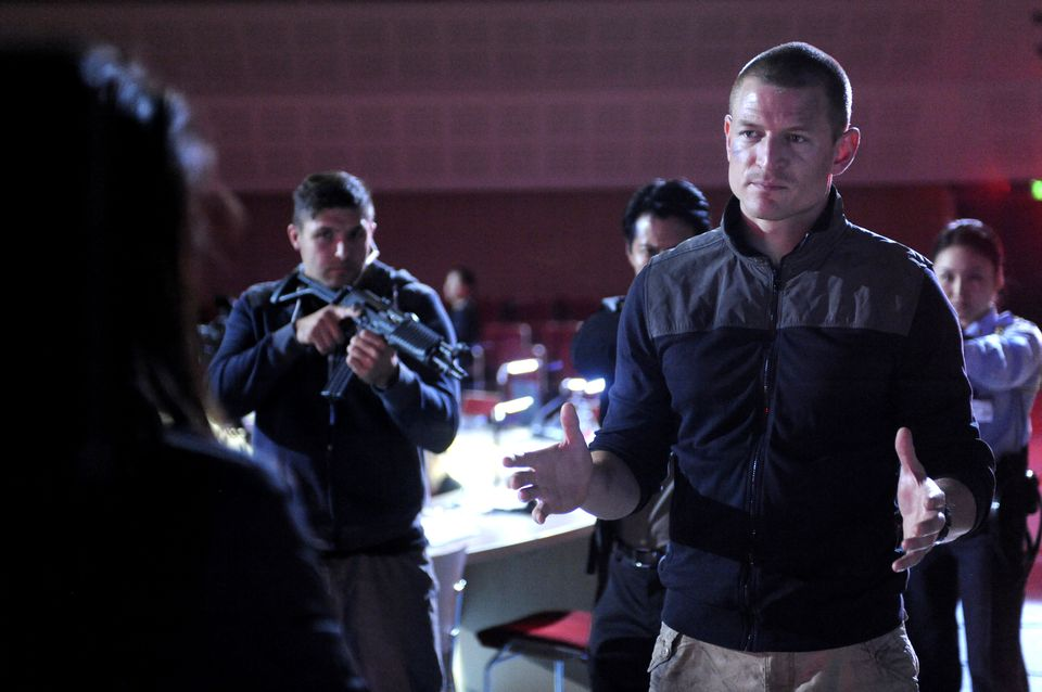 Philip Winchester as Sgt Michael Stonebridge;