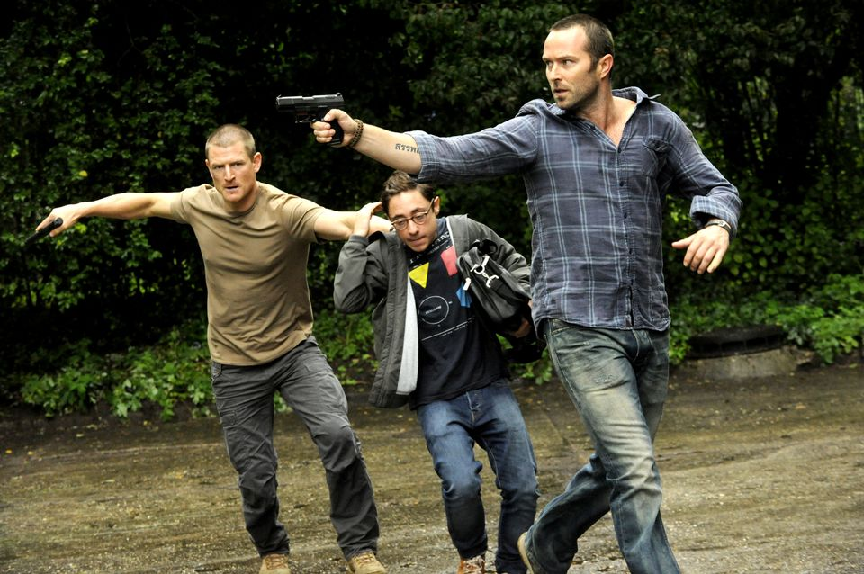 Philip Winchester as Sgt Michael Stonebridge; Sullivan Stapleton as Sgt Damien Scott