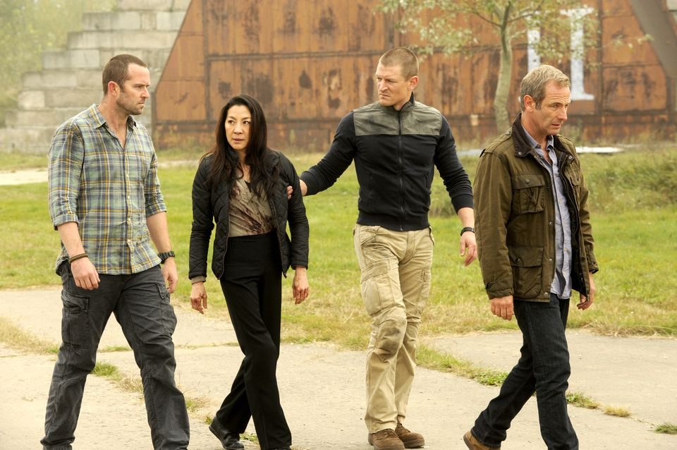 Philip Winchester as Sgt Michael Stonebridge; Sullivan Stapleton as Sgt Damien Scott; Robson Green as Locke; Michelle Yeoh as Li-Na