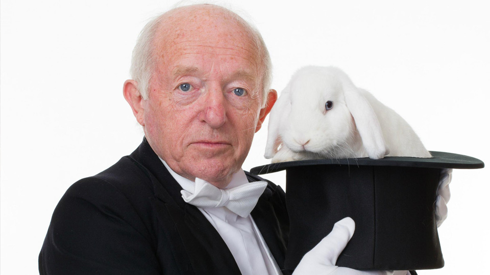 Hat's magic? Paul Daniels delivers illusion up close on The Intimate Magic Tour.