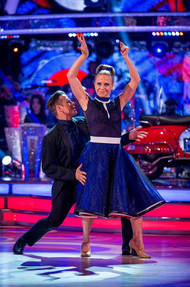Kevin Clifton, Kellie Bright - (C) BBC - Photographer: Guy Levy