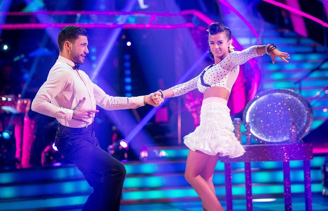 Giovanni Pernice, Georgia May Foote - (C) BBC - Photographer: Guy Levy