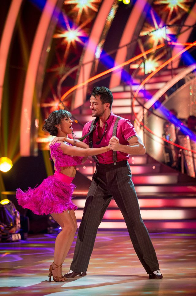 Peter Andre, Janette Manrara - (C) BBC - Photographer: Guy Levy