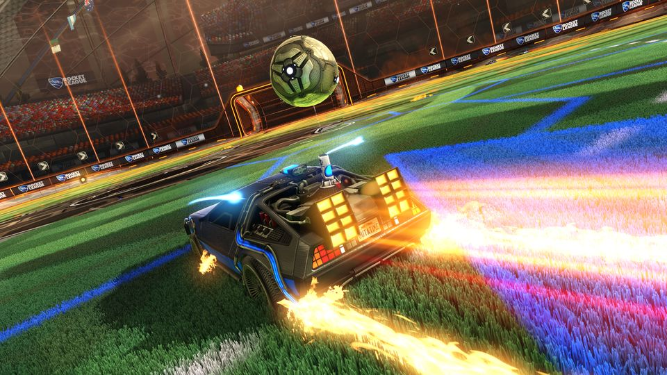 Rocket League - BTTF Car Pack