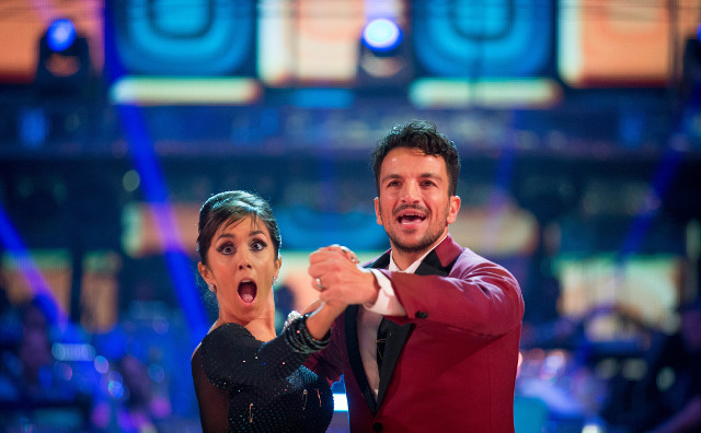 Peter Andre and Janette Manrara
