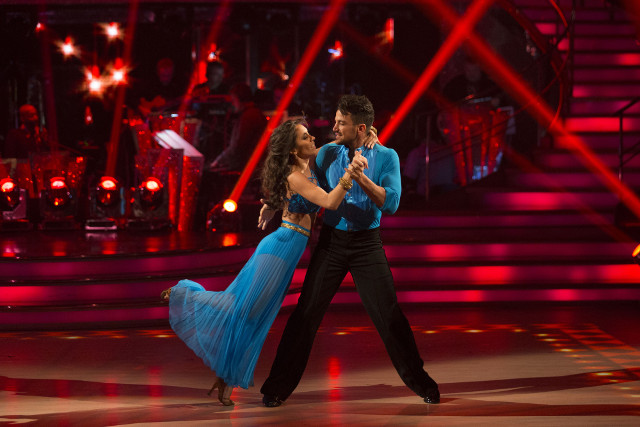 Peter Andre & Janette Manrara