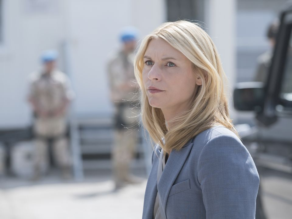 Credit: Stephan Rabold/SHOWTIME -'The Tradition of Hospitality' - Claire Danes as Carrie Mathison