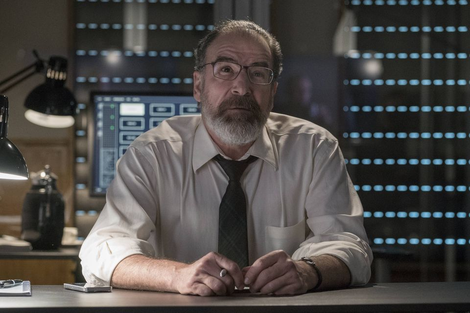 Credit:  Stephan Rabold/SHOWTIME - Mandy Patinkin as Saul Berenson in Homeland (Season 5, Episode 3).