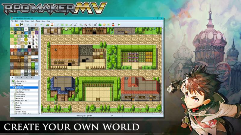 RPG Maker MV  Create Your Own World