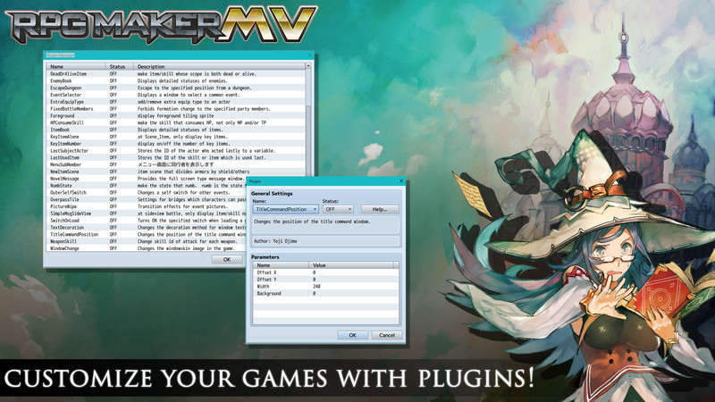 RPG Maker MV  Customize your game