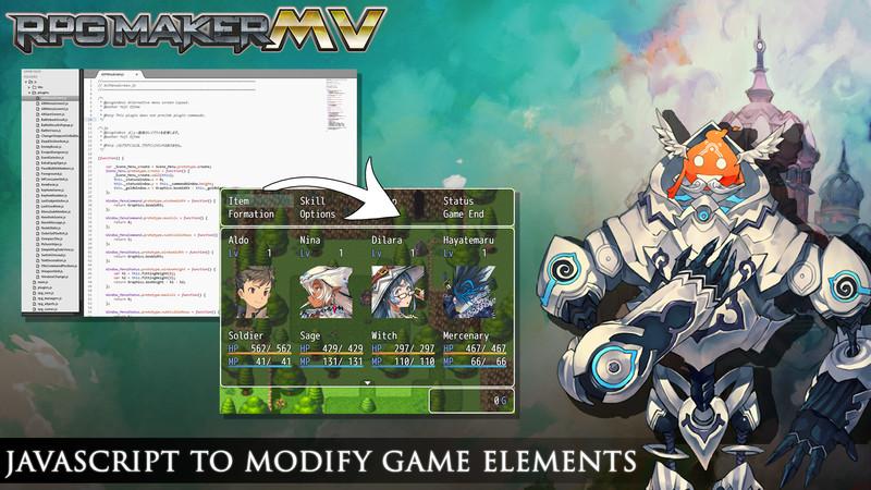 RPG Maker MV Javascript