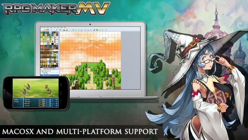 RPG Maker MV Mac OS and Multiplatform