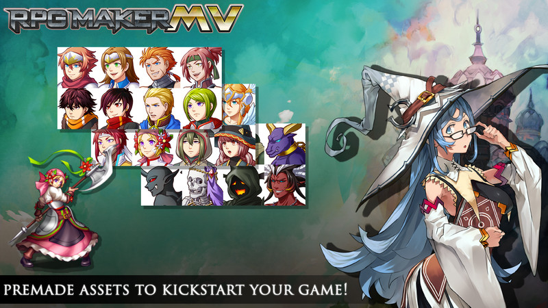 RPG Maker MV available for pre-order - Entertainment Focus