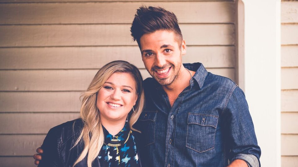 Ben Haenow and Kelly Clarkson