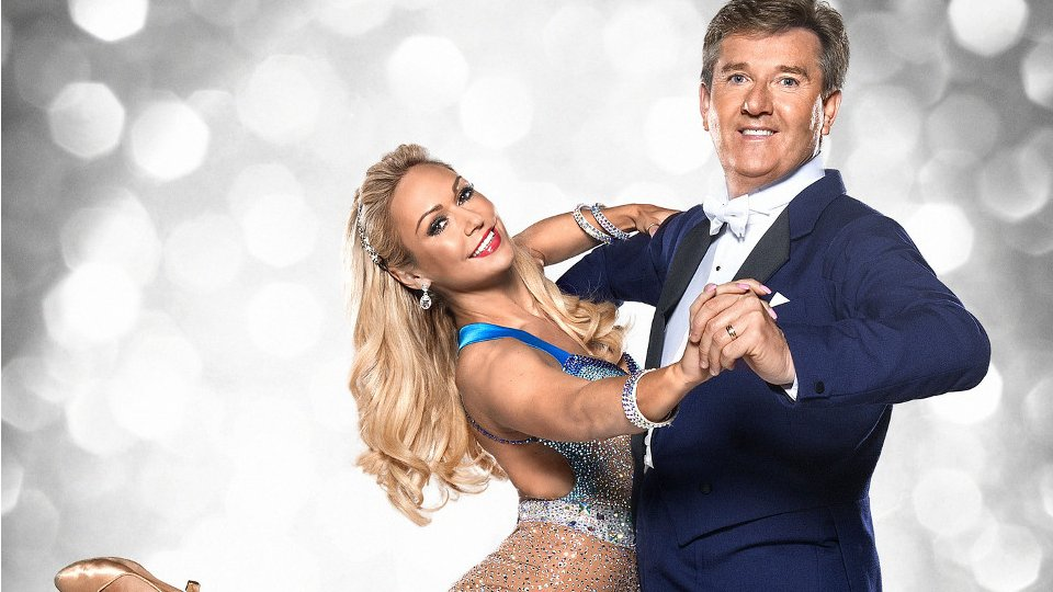 Daniel O'Donnell and Kristina Rihanoff