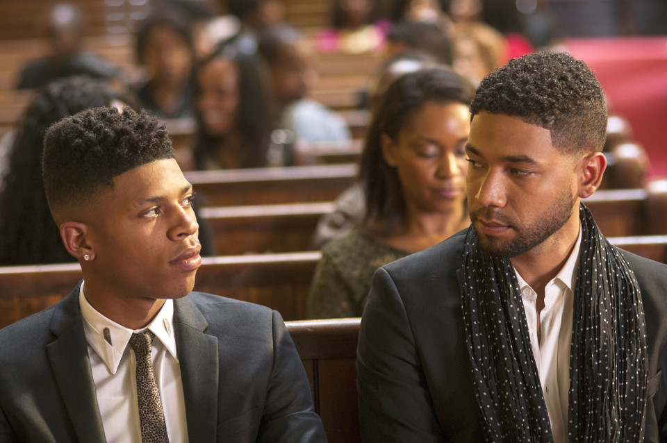 'Be True' - L-R Bryshere Gray and Jussie Smollett