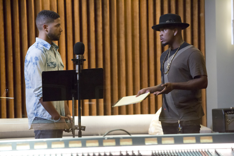 'Be True' - L-R Jussie Smollett and music guest star Neo