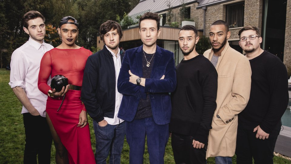 Nick Grimshaw and the Boys