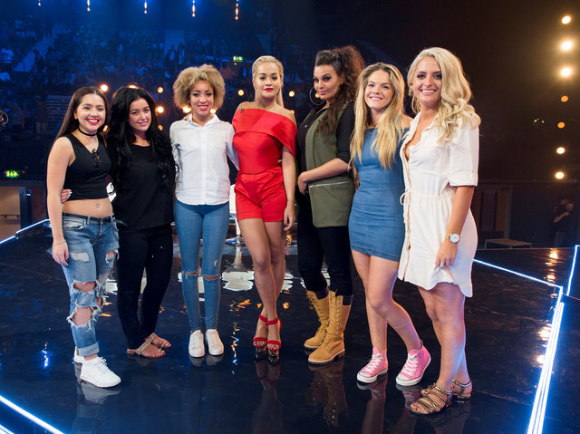 The X Factor is a Thames/Syco production for ITV. UNDER STRICT EMBARGO UNTIL 21.00 ON SUNDAY 4TH OCTOBER 2015 TX10 SIX CHAIR CHALLENGE PICTURE SHOWS: HAVVA REBKE, LAUREN MURRAY, KIERA WEATHERS, RITA ORA, MONICA MICHAELS, LOUISA JOHNSON AND CHLOE PAIGE UNDER STRICT EMBARGO UNTIL 00.01 ON SUNDAY 4TH OCTOBER 2015 TelevisionÕs biggest search for a music star is back as The X Factor returns to ITV, with a new stellar judging panel and a dynamic new presenting duo. The brand new super six sees Simon Cowell, Cheryl Fernandez-Versini, Nick Grimshaw and Rita Ora take their places at the judgesÕ desk, while presenters Olly Murs and Caroline Flack will be guiding the search to find a potential pop star with an amazing voice and that extra special something. ©Thames/Syco/Fremantle Media