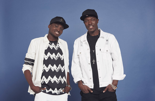 This image is strictly embargoed until 00.01 Saturday 31st October 2015 From Thames / Syco Productions The X Factor: The Final 12 Pictured: Reggie 'N' Bollie. This photograph is (C) Thames / Syco Entertainment and can only be reproduced for editorial purposes directly in connection with the programme or event mentioned above, or ITV plc. Once made available by ITV plc Picture Desk, this photograph can be reproduced once only up until the transmission [TX] date and no reproduction fee will be charged. Any subsequent usage may incur a fee. This photograph must not be manipulated [excluding basic cropping] in a manner which alters the visual appearance of the person photographed deemed detrimental or inappropriate by ITV plc Picture Desk. This photograph must not be syndicated to any other company, publication or website, or permanently archived, without the express written permission of ITV Plc Picture Desk. Full Terms and conditions are available on the website www.itvpictures.com For further information please contact: shane.chapman@itv.com / 0207 157 3043