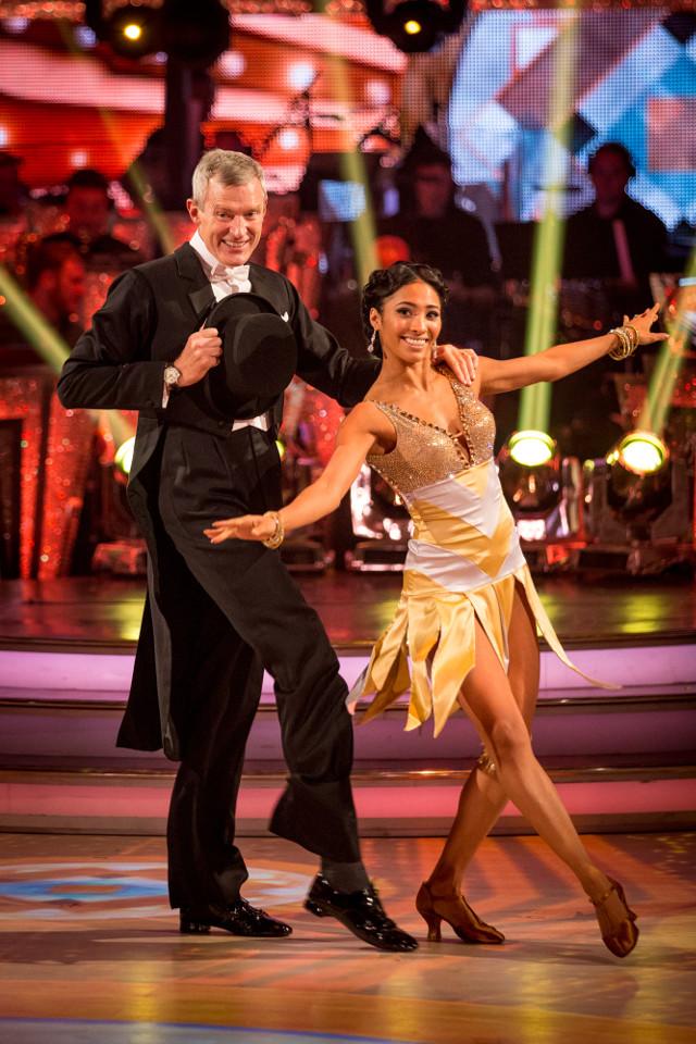 Jeremy Vine and Karen Clifton