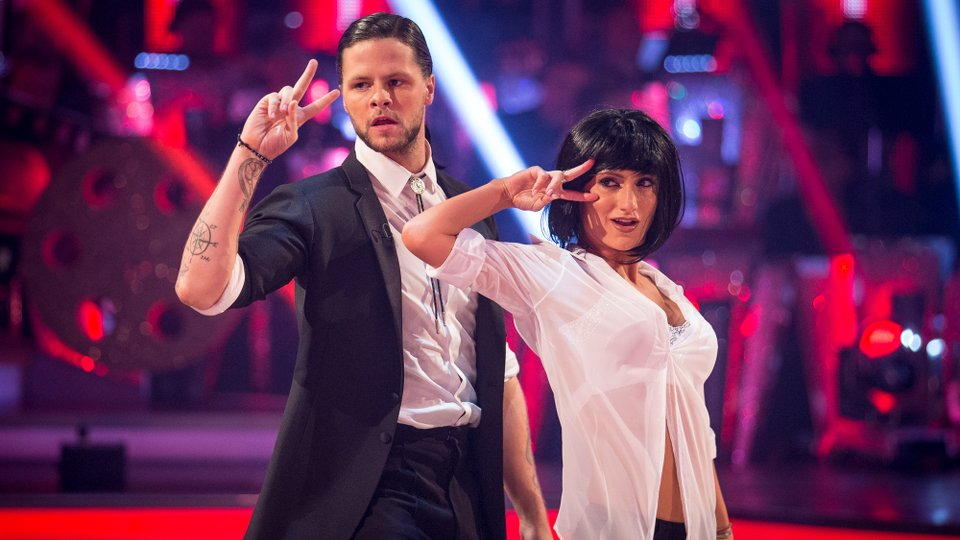 Jay McGuiness and Aliona Vilani week 3