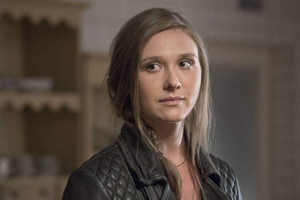 Credit:  Stephan Rabold/SHOWTIME - Sarah Sokolovic as Laura Sutton in Homeland (Season 5, Episode 07).