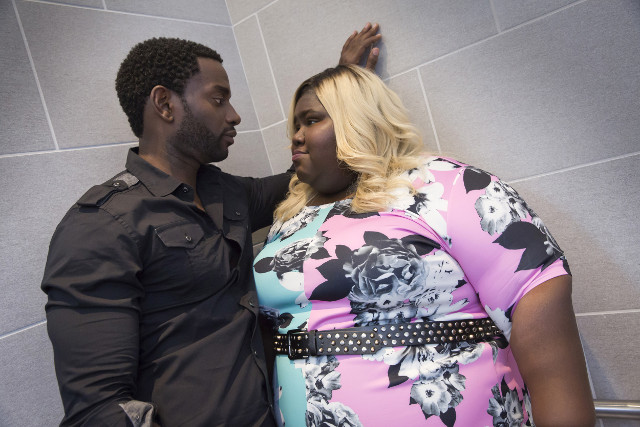 'My Bad Parts' - L-R: Guest star Mo McRae and Gabourey Sidibe