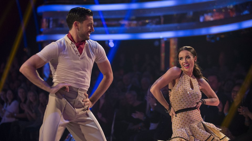 Georgia May Foote and Giovanni Pernice week 7